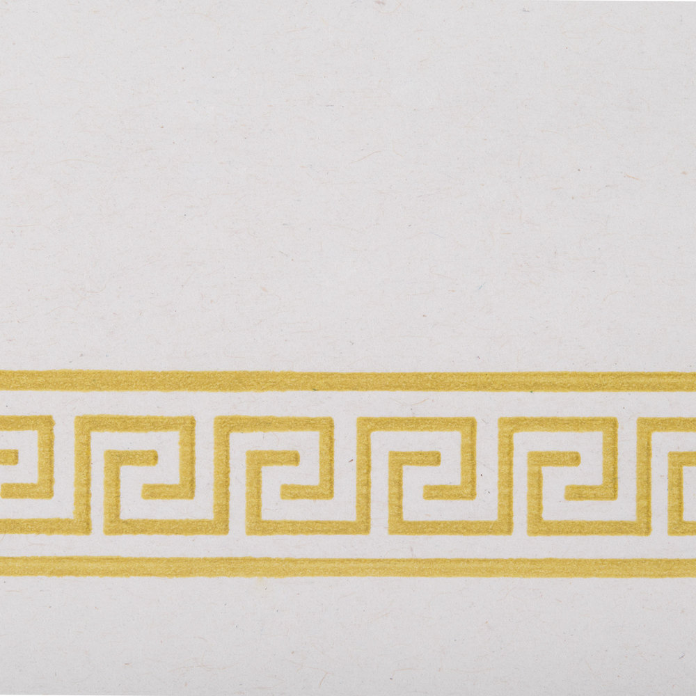 Greek Key Placemat 1000 Case Gold