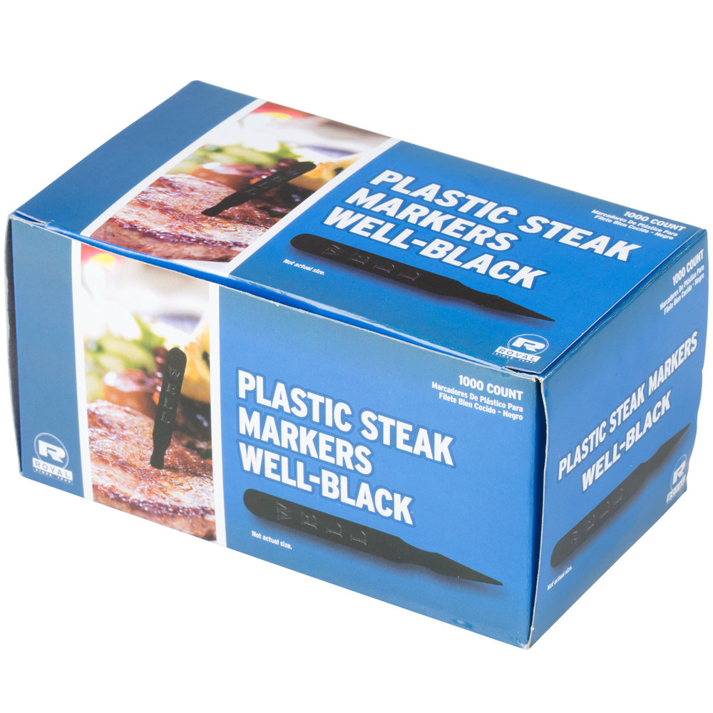 Well done steak marker