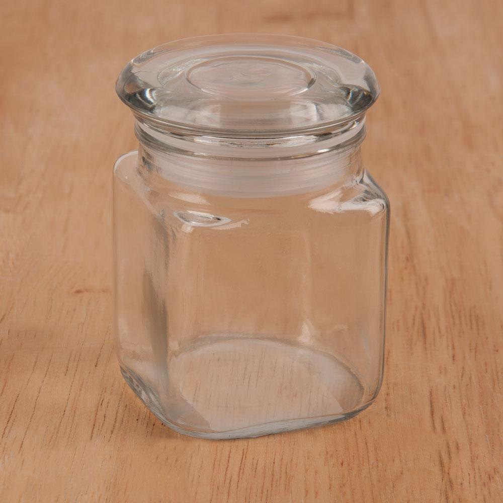 Anchor Hocking Square Glass Canisters