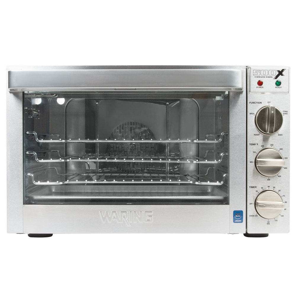 Countertop Glass Oven : Waring WCO500X Half Size Countertop Convection Oven - 120V, 1700W