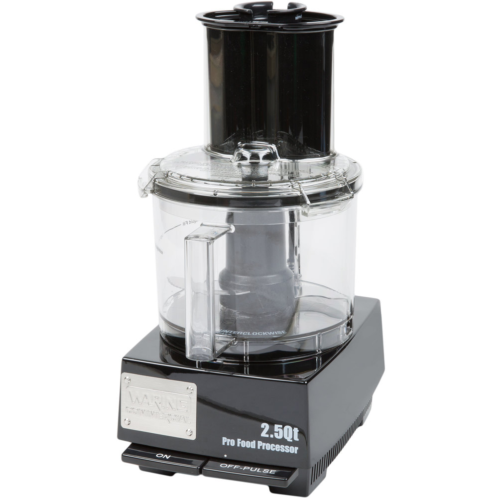 Commercial Food Processor ~ Waring wfp s food processor with qt bowl hp
