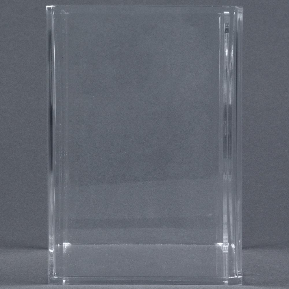hoffmaster 710000 clear acrylic guest towel holder. Black Bedroom Furniture Sets. Home Design Ideas