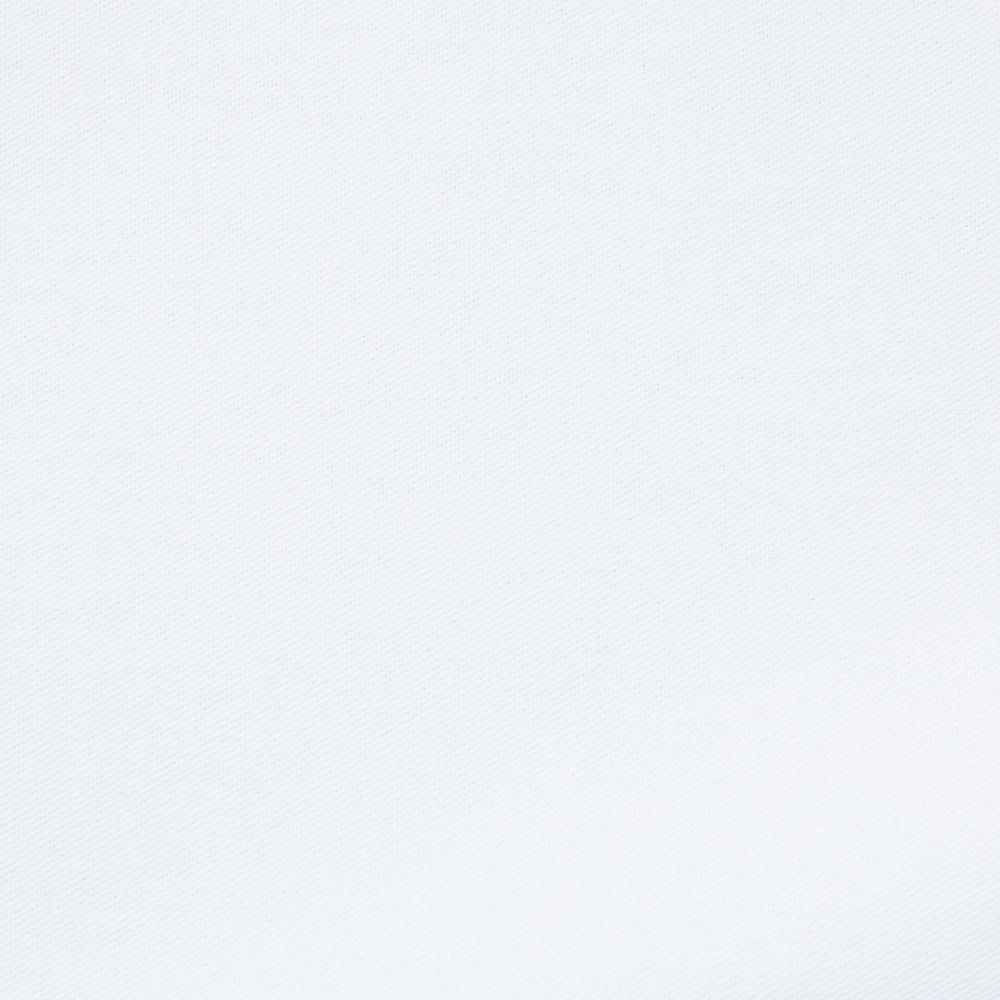 White Napkin   50 / 50 Cloth Poly Cotton Napkin (12 / Pack)