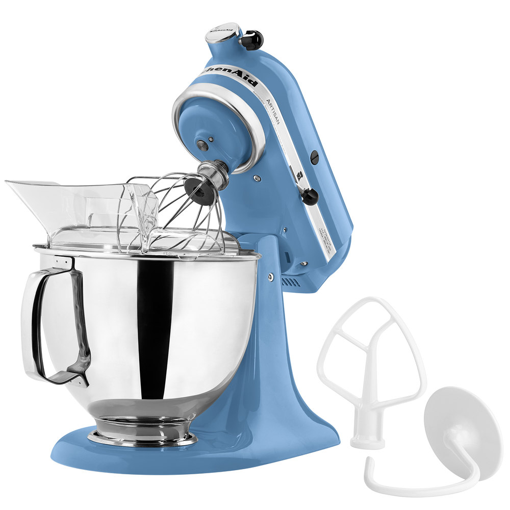 Kitchenaid Ksm150psco Cornflower Blue Artisan Series 5 Qt