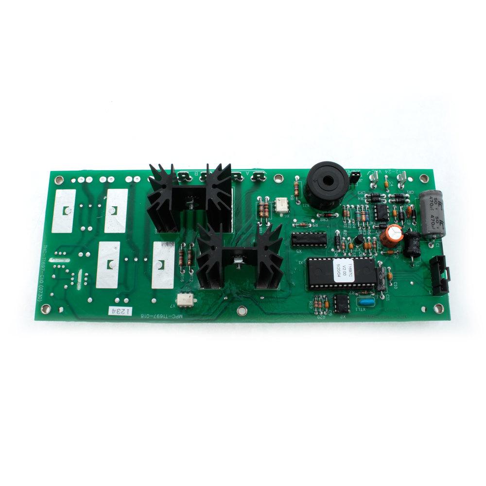 Hatco tf main board 2 triacs for Table th tf 00 02