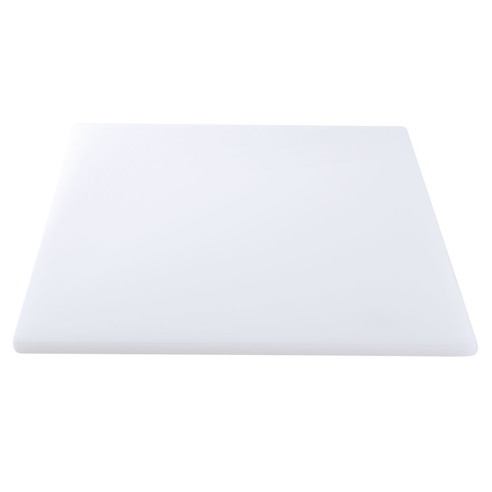 18 x 24 x 3 4 white poly cutting board for White cutting board used for