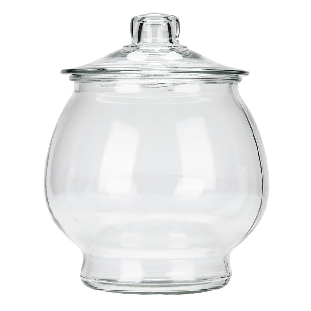 Anchor Hocking 88750r2 1 Gallon Glass Jar With Glass Lid