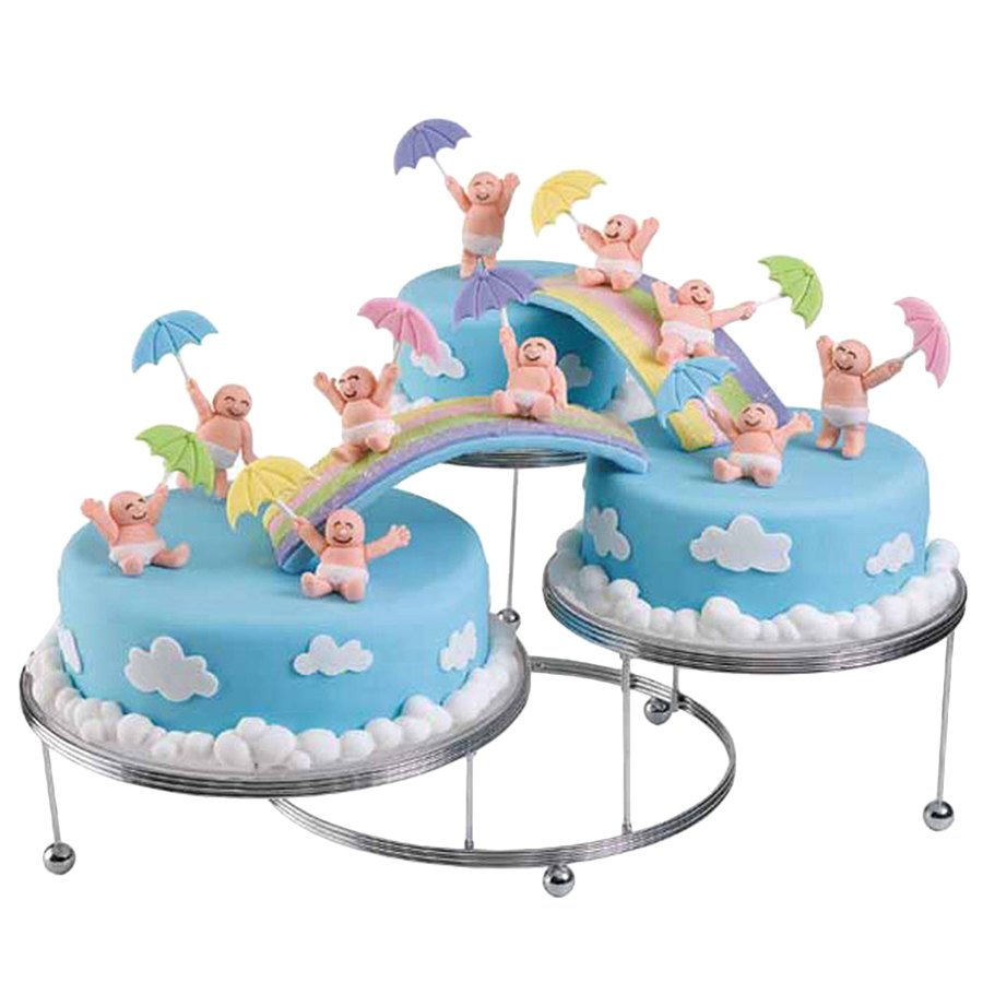 wilton cake stands wilton 307 859 cakes n more three tiered display stand 1422
