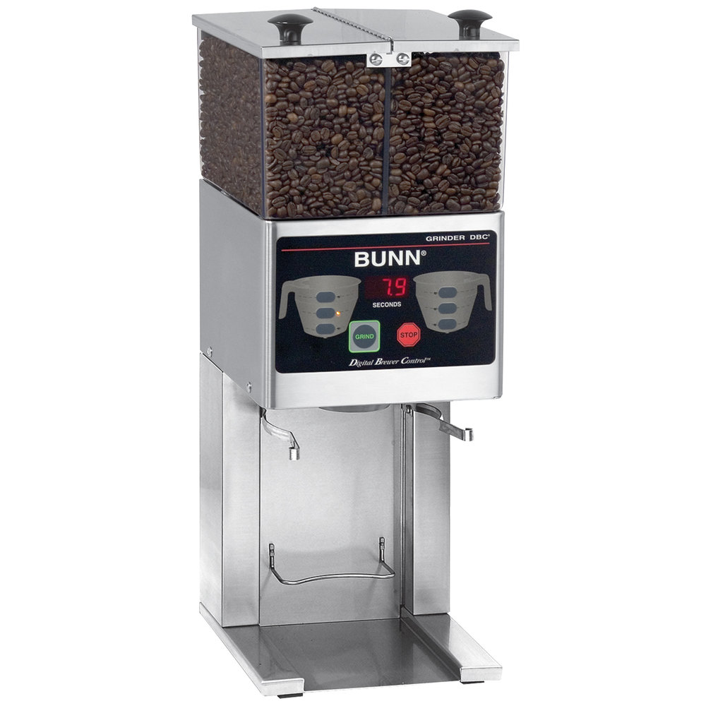 Bunn Commercial Coffee Grinder ~ Bunn fpg dbc french press coffee grinder with