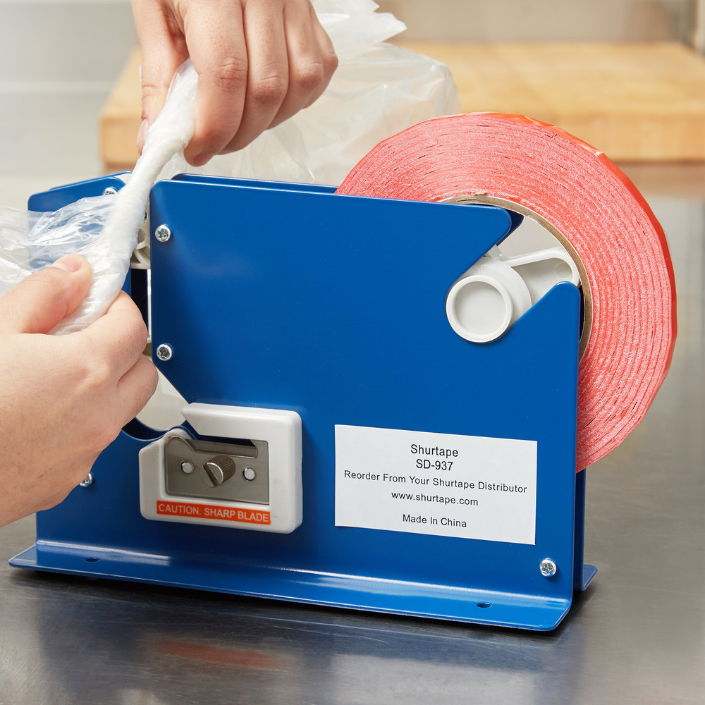 Plastic bag tape sealer -  Image Preview