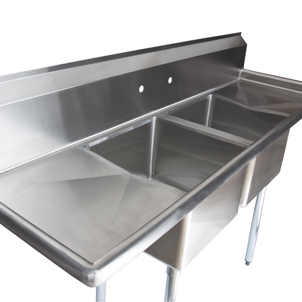 Stainless Steel Sink Countertop : Regency 72