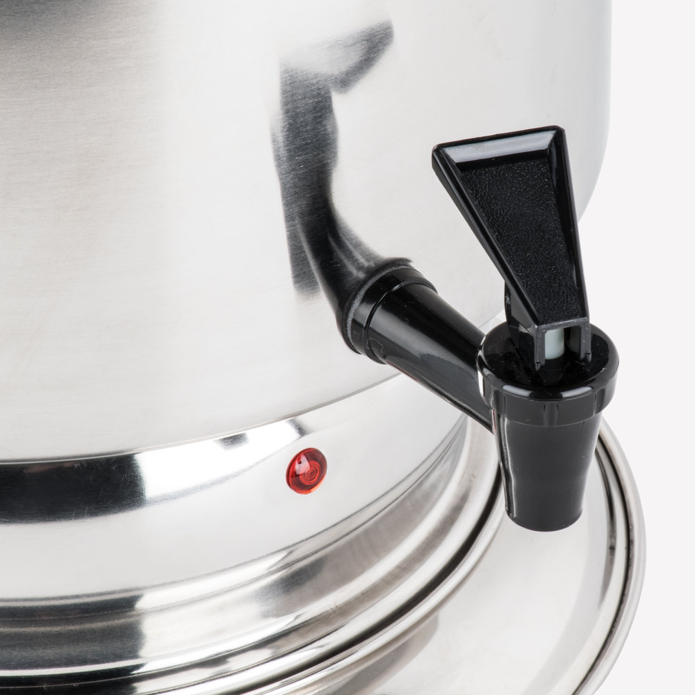 stainless steel coffee urn regalware k1355 55 cup 2 2 gallon image preview