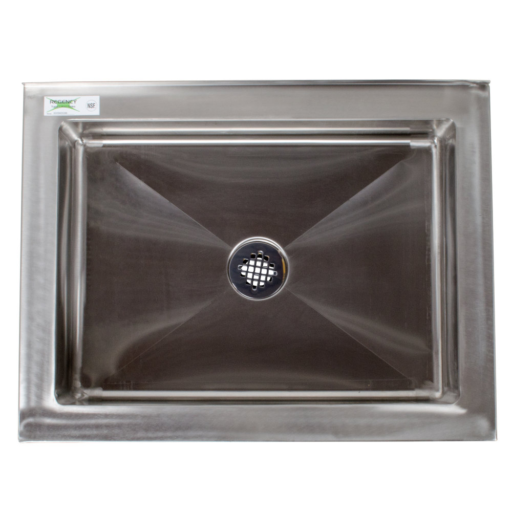Mop Sink Stainless Steel : Regency 33