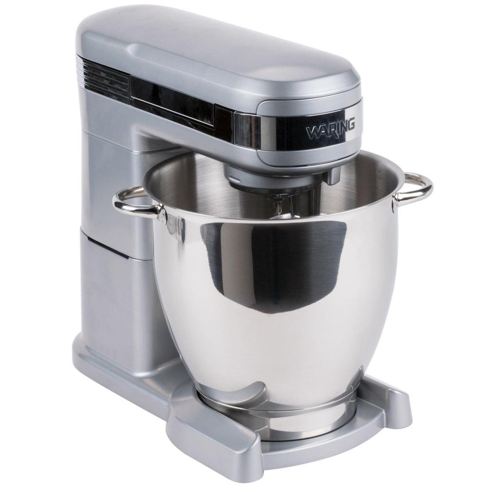 Countertop Mixer : Waring WSM7Q 7 Qt. NSF Commercial Countertop Mixer - 120V, 1 hp