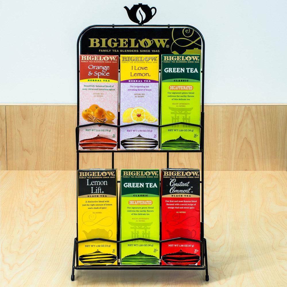 bigelow tea rack