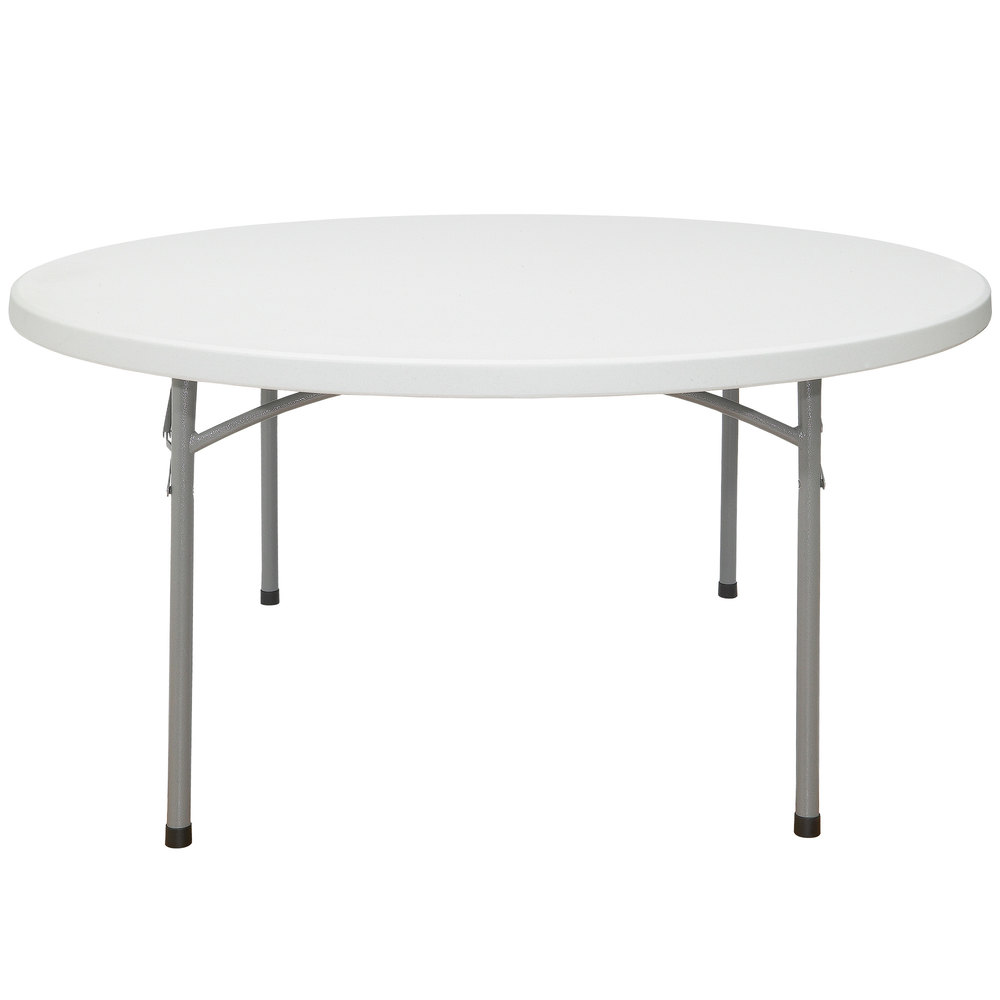 Plastic Folding Table : National Public Seating BT60R 60