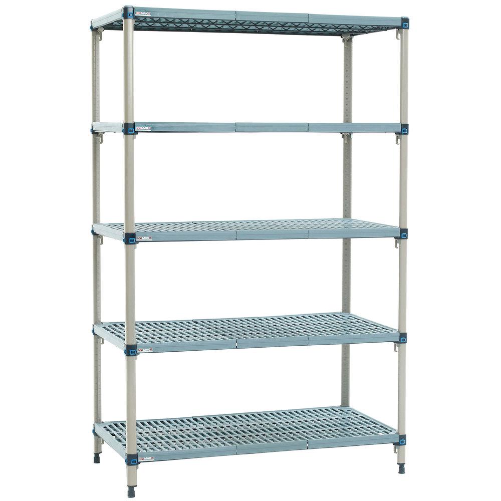 metro 5q527g3 metromax q shelving unit 24 x 30 x 74. Black Bedroom Furniture Sets. Home Design Ideas