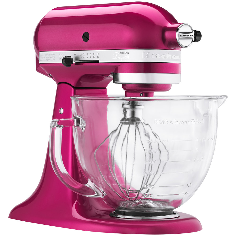 Kitchenaid Ksm155gbri Raspberry Ice Premium Metallic