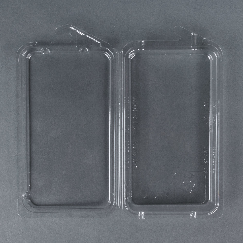 Hook top clamshell herb pack 450 case for Clamshell casing
