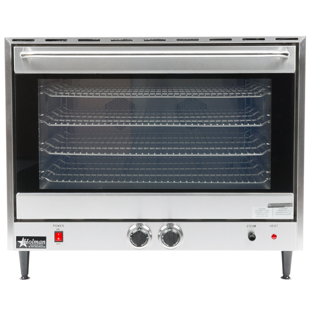 Countertop Oven Full Size : Star CCOF-4 Electric Countertop Full Size Convection Oven