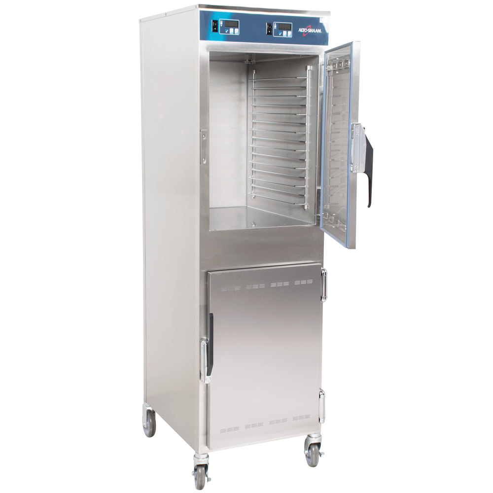 Hot Holding Cabinet Alto Shaam 1000 Up Hd Mobile 8 Pan Dutch Door Holding Cabinet 120v