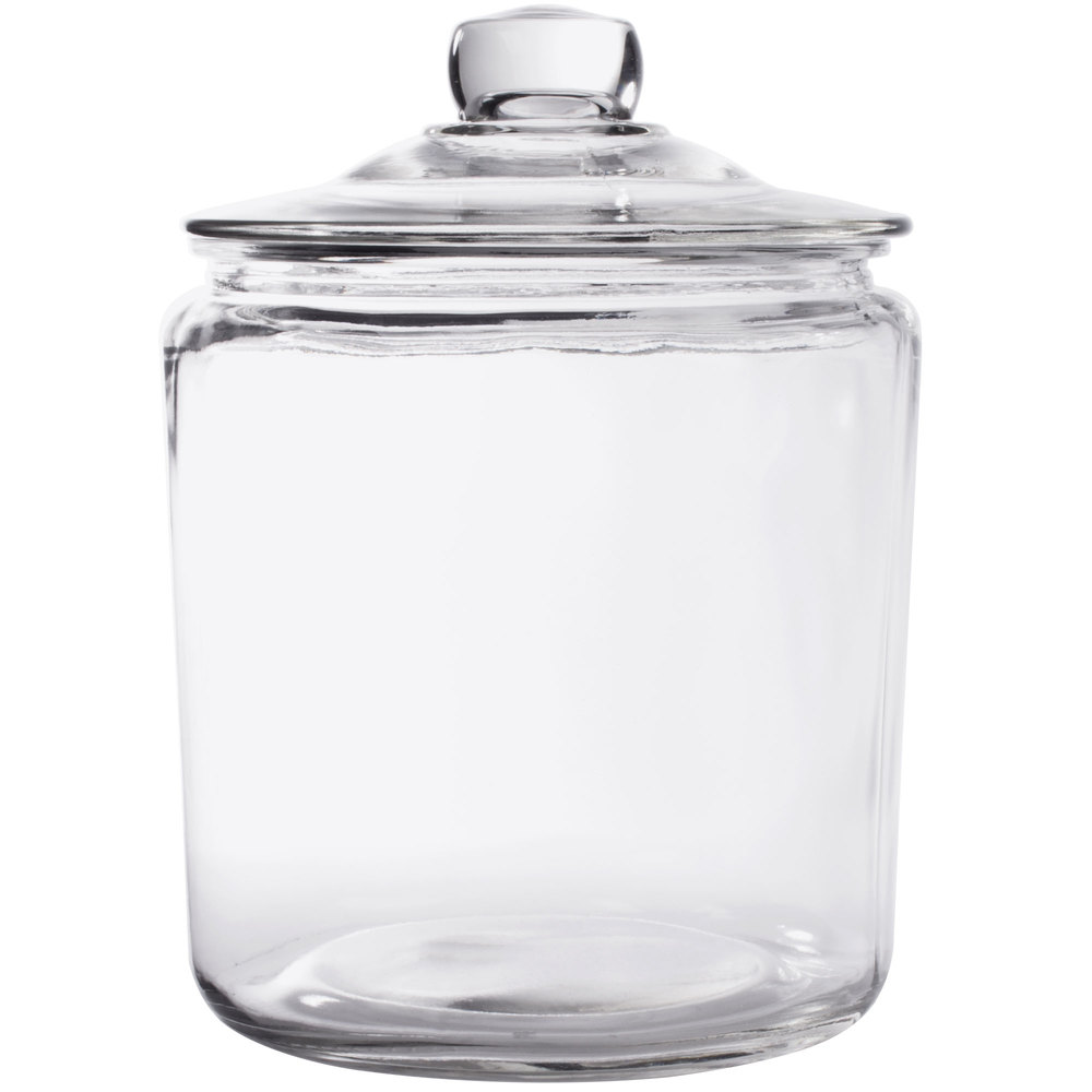 Gallon Glass Container With Lid