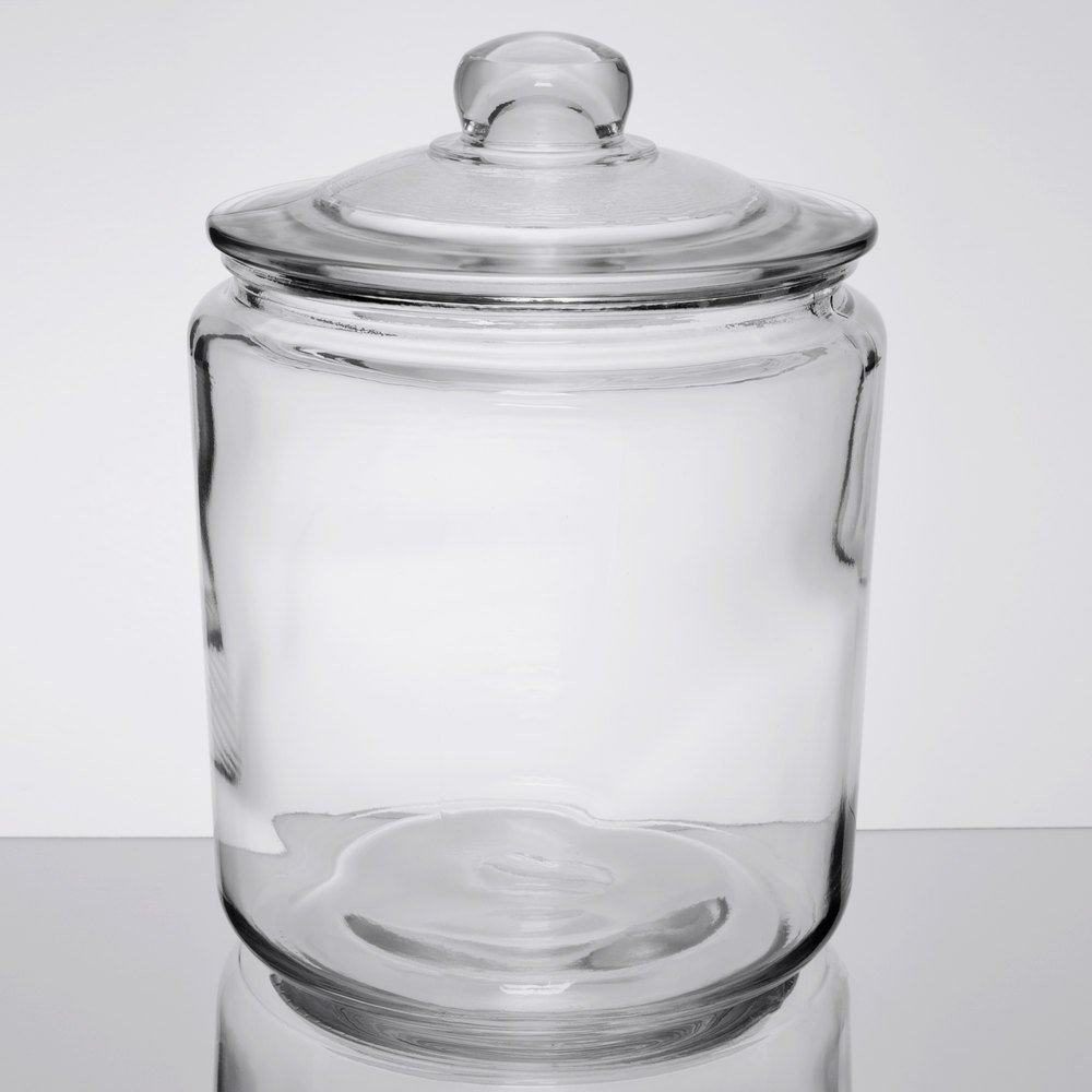 Core One Gallon Glass Jar With Glass Cover Gallon Glass Jars