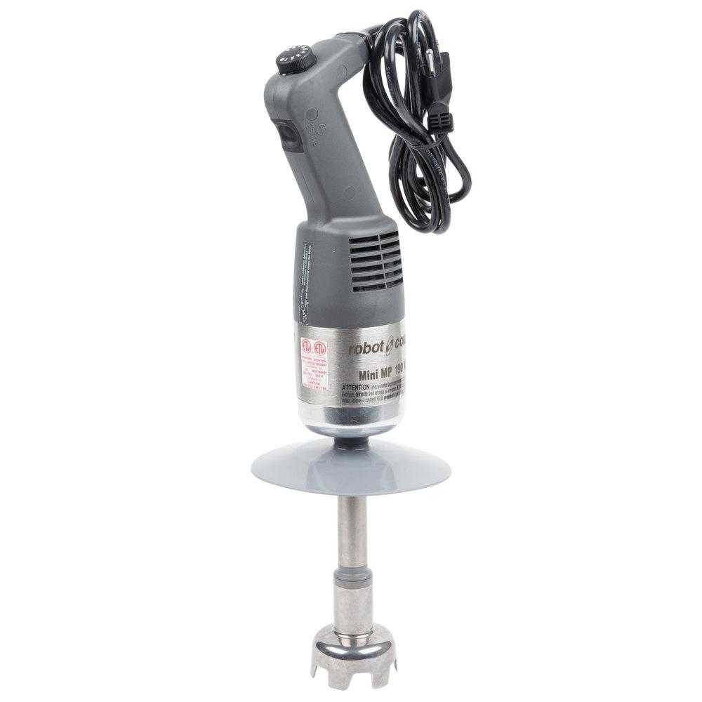 Mini Hand Blender ~ Robot coupe mmp vv quot combi mini variable speed