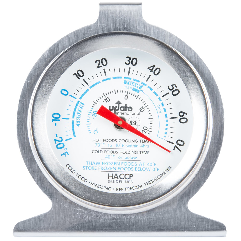 2 refrigerator freezer dial thermometer nsf listed. Black Bedroom Furniture Sets. Home Design Ideas