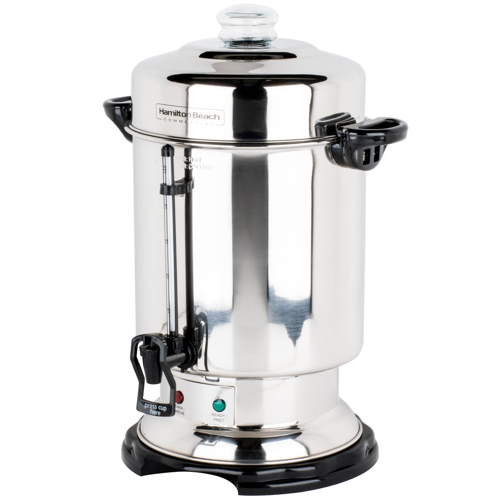 Industrial Coffee Maker Parts : Hamilton Beach D50065 60 Cup (2.5 Gallon) Stainless Steel Coffee Urn