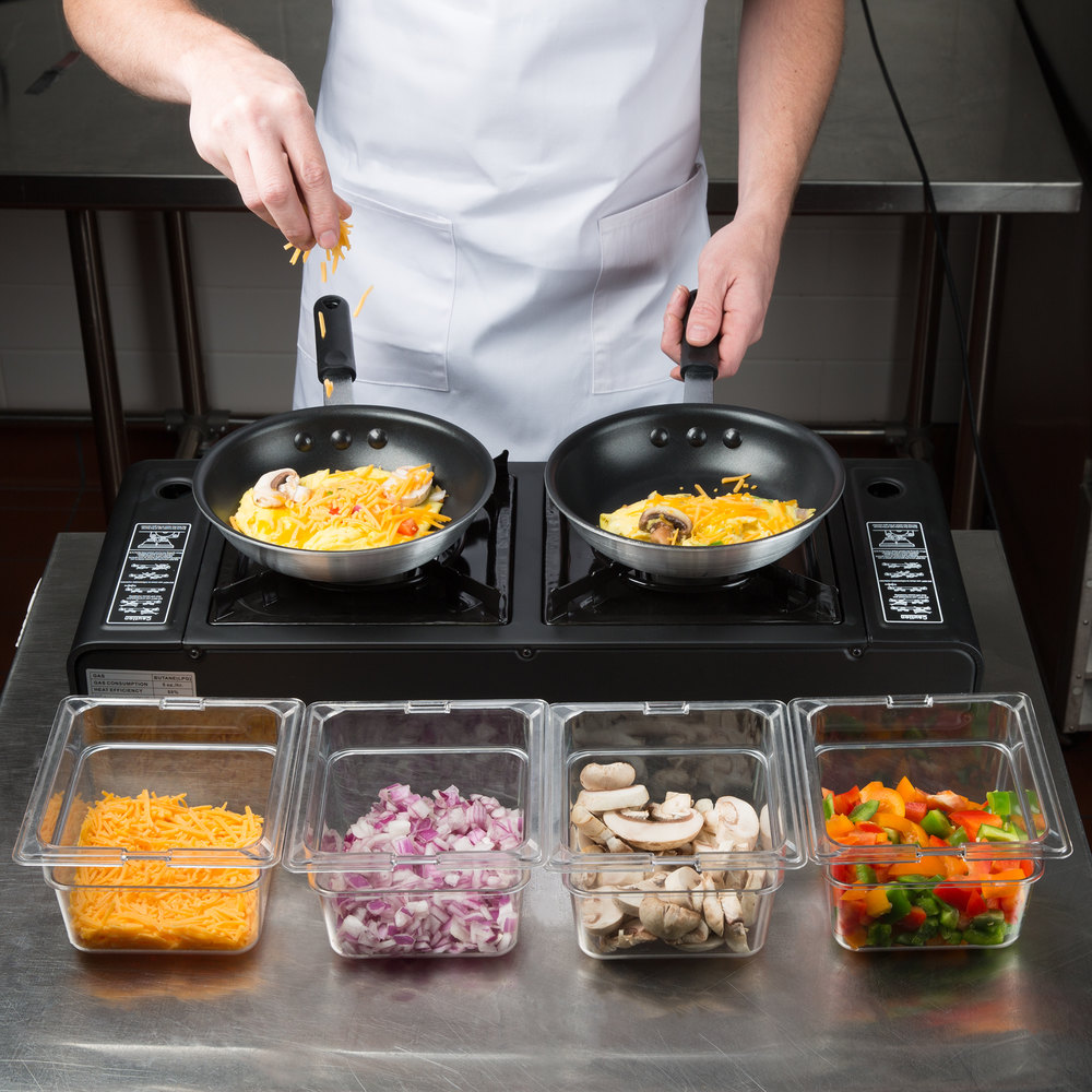Best Countertop Portable Stove : ... Butane Countertop Range / Portable Stove with Brass Burners