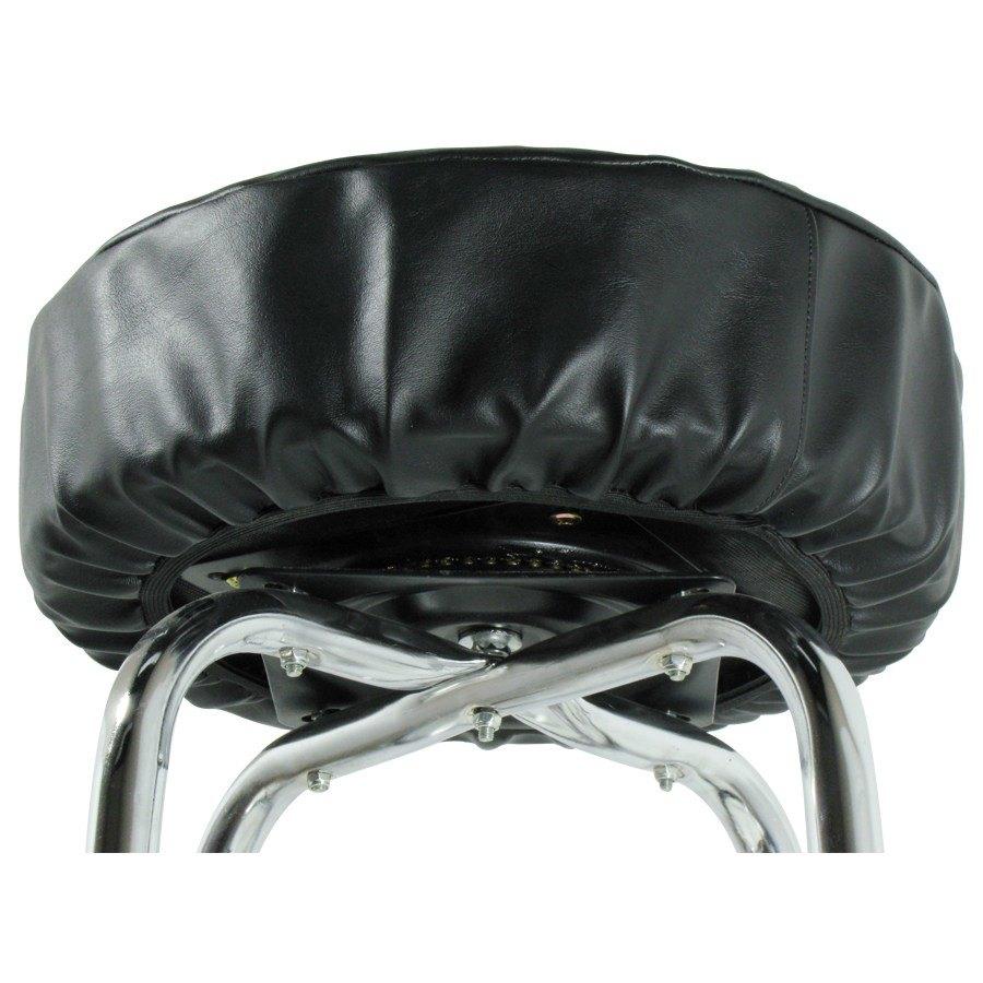 14quot Black Vinyl Bar Stool Seat Cover : 106423 from www.webstaurantstore.com size 900 x 900 jpeg 97kB