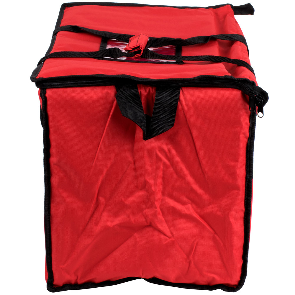 Choice Soft Sided Insulated Cooler Bag Red Nylon