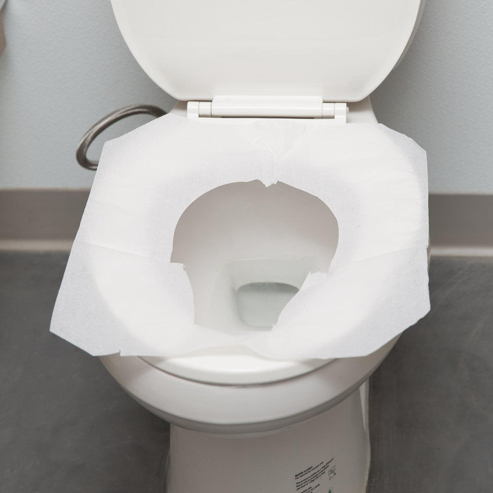 Half Fold Paper Toilet Seat Cover 250 Per Box Paper Toilet Seat Covers