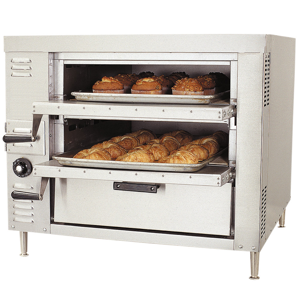 Countertop Stove Propane : Bakers Pride GP-61HP Liquid Propane Countertop Oven - 60,000 BTU