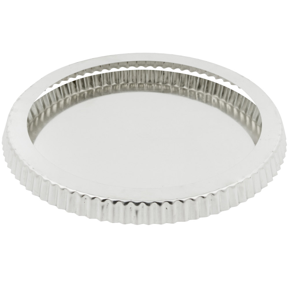 Quiche pan deep removable bottom