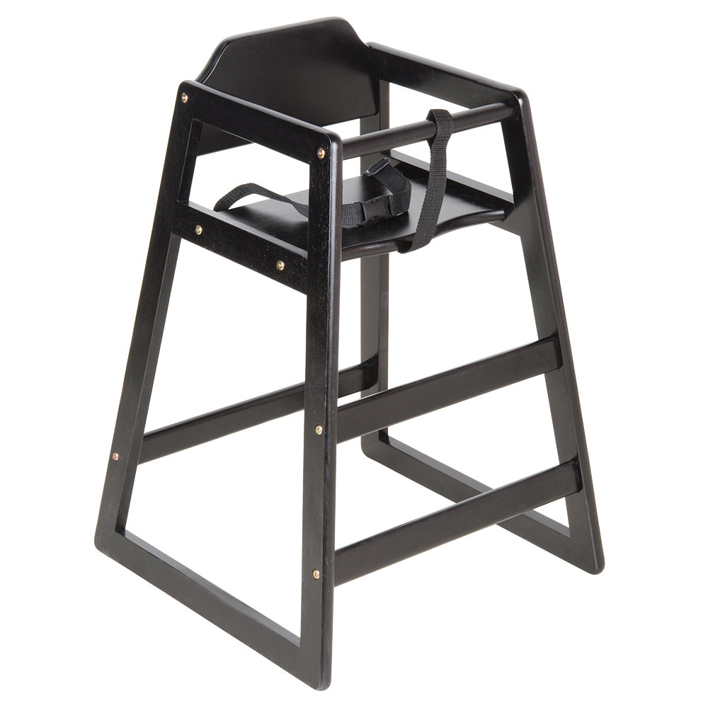 Lancaster Table Seating Black Stacking Restaurant Wood