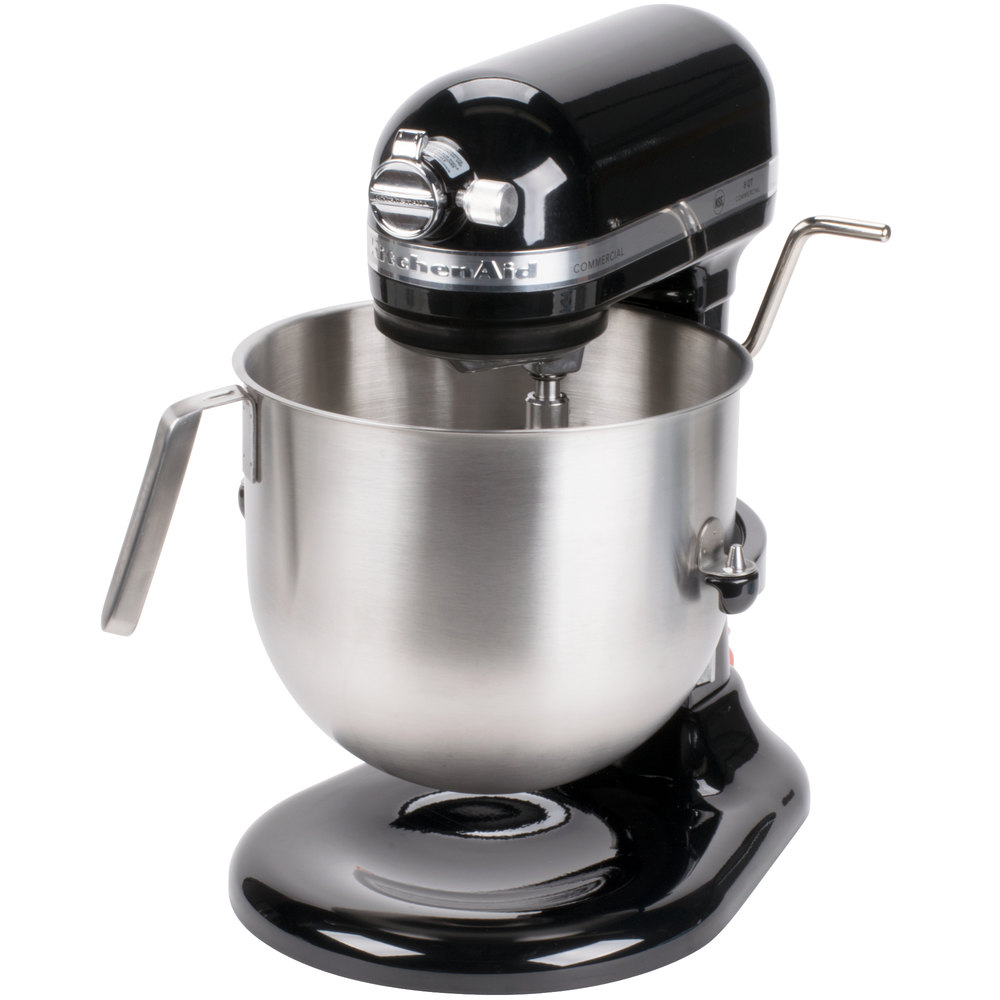 Black KitchenAid 8 Qt. Commercial Mixer KSM8990OB