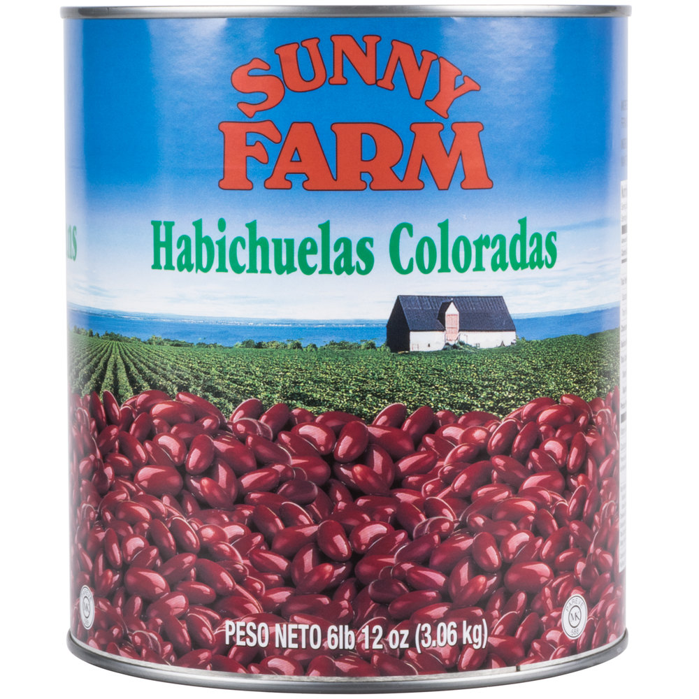 how to make red kidney beans from a can