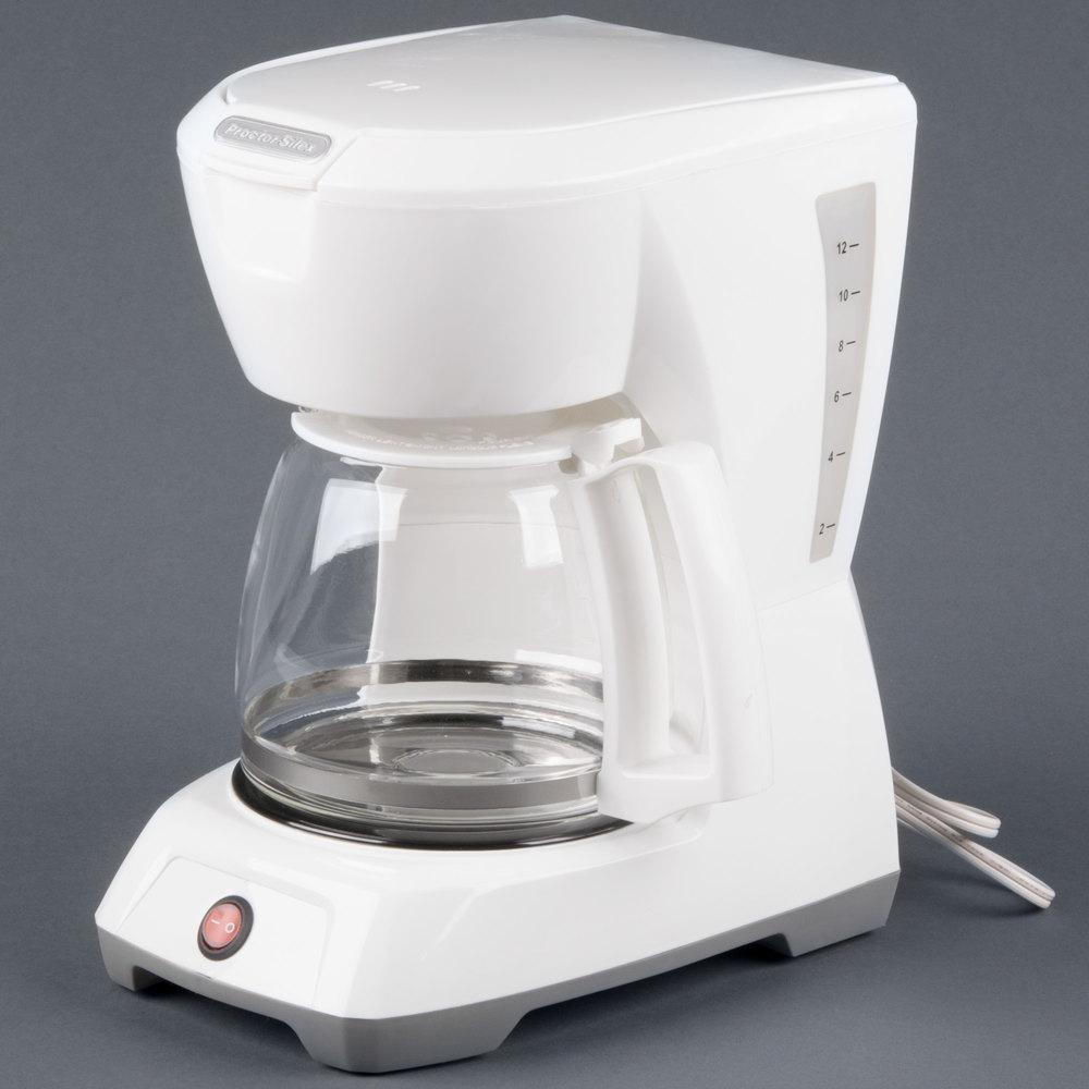 proctor silex 12 cup coffee maker manual