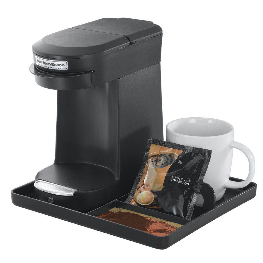 Coffee Maker For Pods : Hamilton Beach HDC200B Black Single Serving Pod Coffee Maker - 120V, 500W