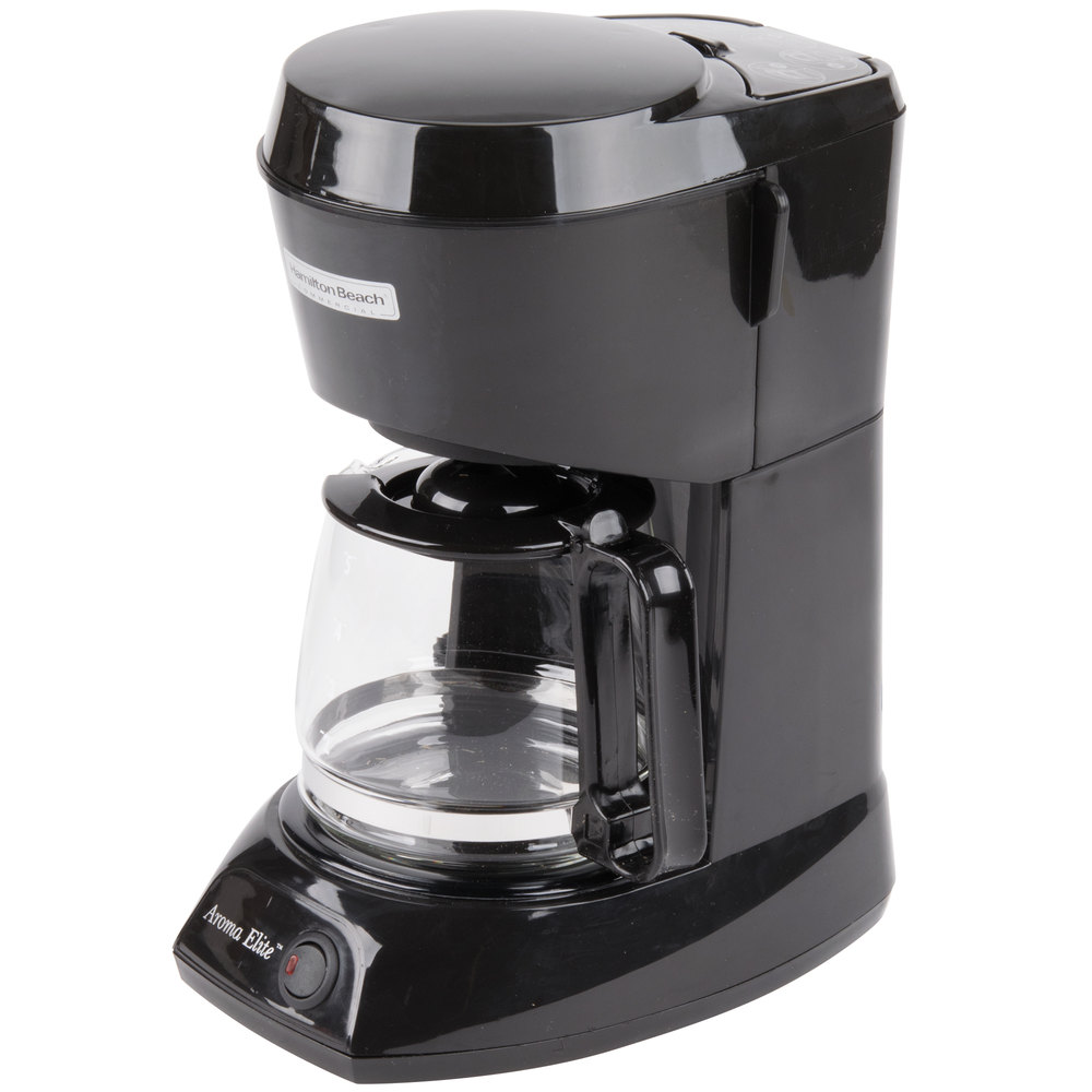 Coffee Maker Automatic Shut Off : Hamilton Beach HDC500C-CE 4 Cup Coffee Maker with Auto Shut Off and Glass Carafe - 230V, 550W ...