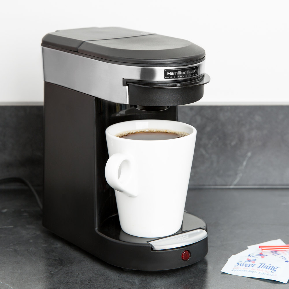 Coffee Maker Usage : Hamilton Beach HDC200S-CE Single Serving Pod Coffee Maker - 230V, 500W (International Use Only)