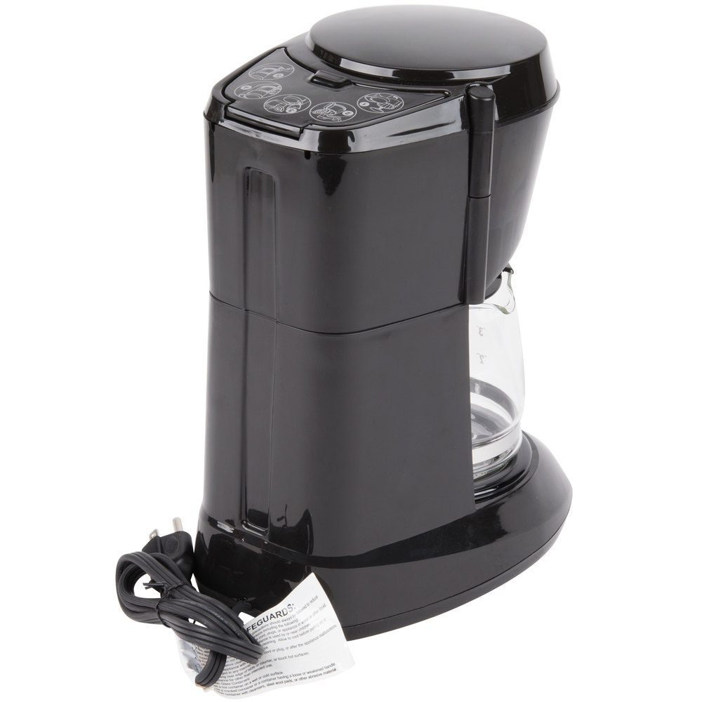 4 Cup Coffee Maker Auto Shut Off : Hamilton Beach HDC500C 4 Cup Coffee Maker with Auto Shut Off and Glass Carafe - 120V, 550W