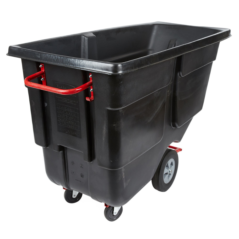 Rubbermaid Fg9c7400yel 18 32 Gallon Commercial Trash Can