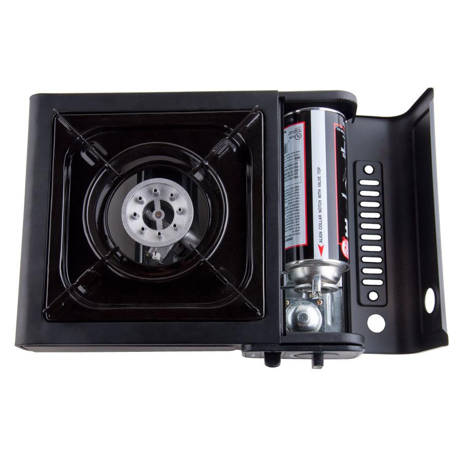 portable gas stove butane burner with 1 range and auto. Black Bedroom Furniture Sets. Home Design Ideas