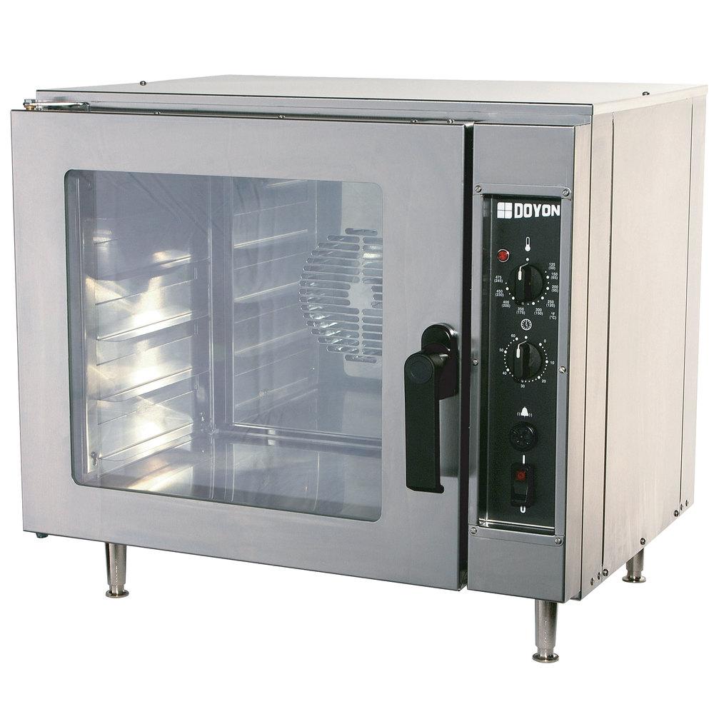 Doyon DCO5 Half Size Countertop Electric Convection Oven - 4 kW