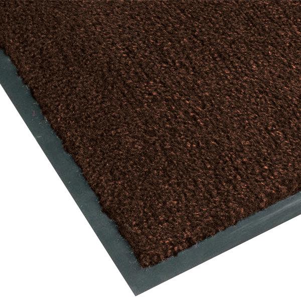 Teknor Apex NoTrax T37 Atlantic Olefin 434-315 3' x 4' Dark Toast Carpet Entrance Floor Mat - 3/8 inch Thick