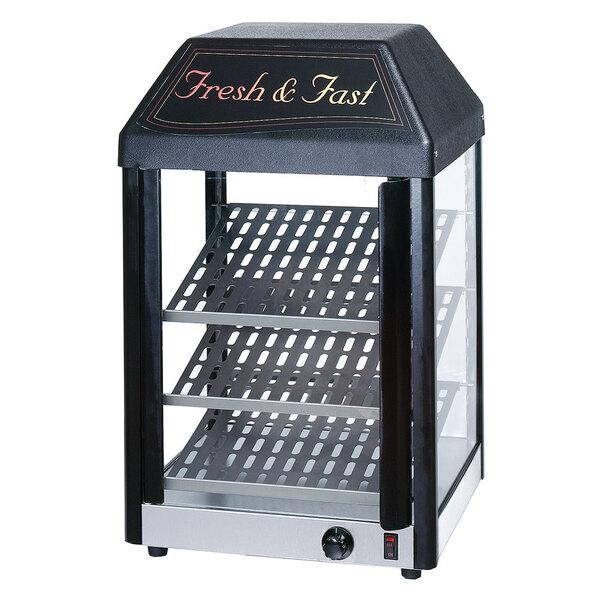 Star 15MC Countertop Hot Food Display / Merchandiser with Three Shelves - 650W