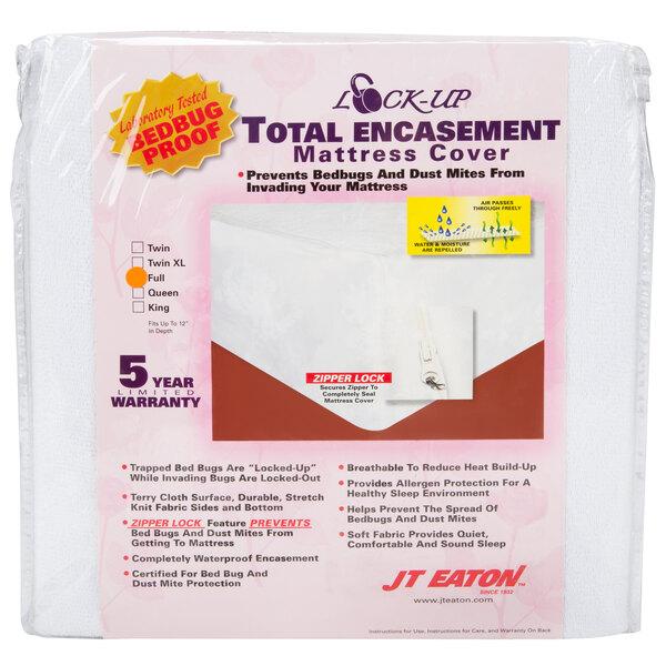 JT Eaton 81FULENC Premium Full Size Bed Bug Proof Mattress Cover